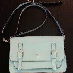 Kate Spade Messenger Crossbody Bag Mint Blue